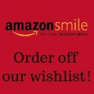 graphic that says Amazon Smile Order off our wishlist